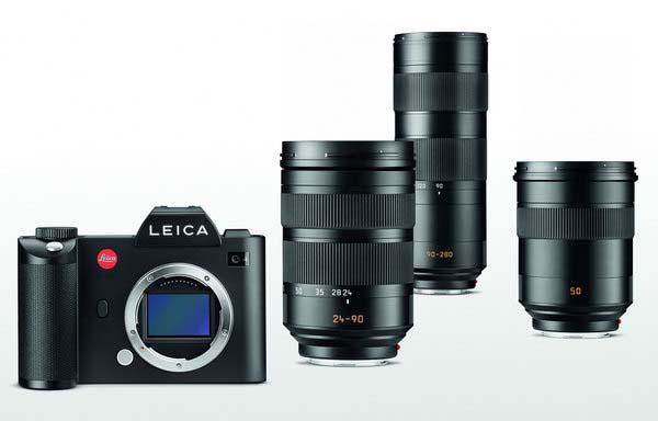 Leica SL et objectifs