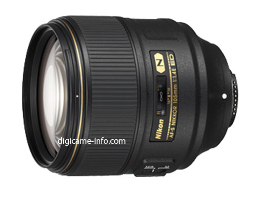 Nikon 105mm f/1.4 Lens Leaked, To Be World's Fastest 105mm
