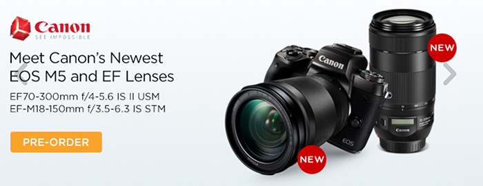 New Canon EOS-M and new Zeiss Loxia 85mm preorder list ...