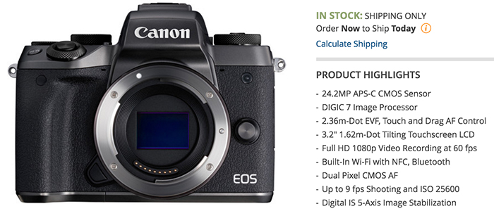 new eos m5 ii will be announced at photokina mirrorlessrumors. Black Bedroom Furniture Sets. Home Design Ideas