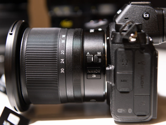 First images of the new 24-70mm f/2 8 and 14-30mm f/4 0 Z prototype