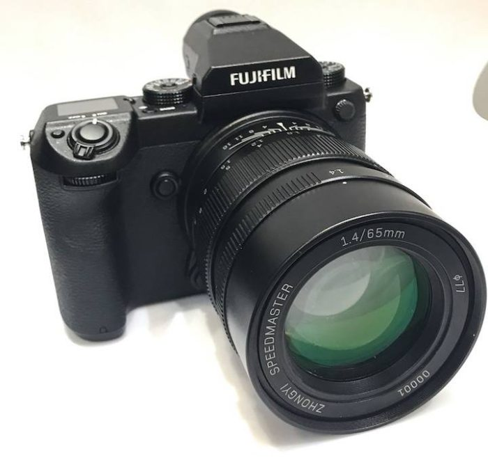 The Fuji GFX needs speed and that's why Mitakon will launch