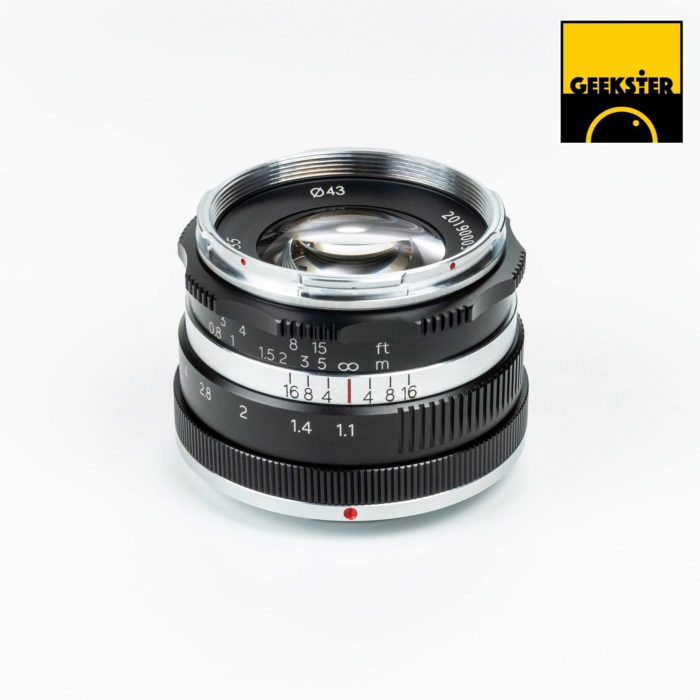 New Geekster 35mm f/1.1 for MFT launched - 43 Rumors
